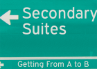 Secondary Suites: Getting from A to B